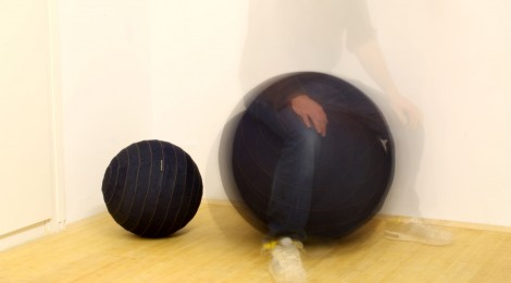 The Denim Sitting Ball featured in Icon