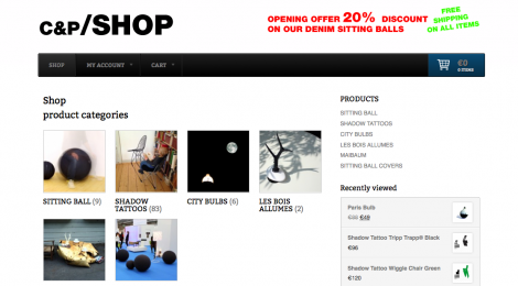 FINALLY IT IS READY-OUR WEBSHOP IS ONLINE